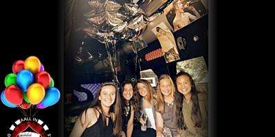 Awesome Justin Bieber Themed Party Inside Our Limo Bus!