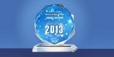 Aall In Limo Receives the 2013 San Diego Limousine & Car Services Award